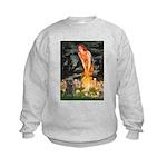 Midsummer/Cairn (brin) Kids Sweatshirt