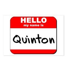 Hello my name is Quinton Postcards (Package of 8)