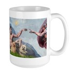Creation/Cairn trio Large Mug