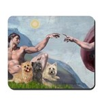 Creation/Cairn trio Mousepad