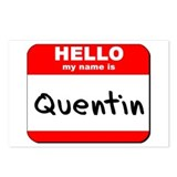 Hello my name is Quentin Postcards (Package of 8)