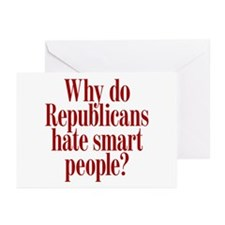 Republican Question Greeting Cards (Pk of 10)