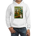Spirit/Brittany Spaniel Hooded Sweatshirt