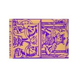 Le Chariot, Tarot Rectangle Magnet