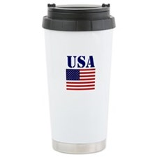 USA Ceramic Travel Mug