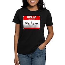 Hello my name is Peter Tee