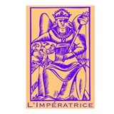 L'Impératrice, Tarot Postcards (Package of 8)