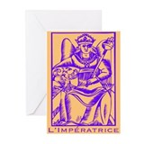 L'Impératrice, Tarot Greeting Cards (Pk of 10)