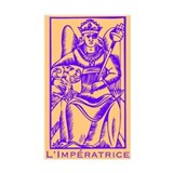 L'Impératrice, Tarot Rectangle Decal
