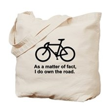 Cute Road biking Tote Bag