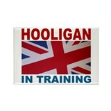Hooligan in Training Rectangle Magnet