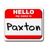 Hello my name is Paxton Mousepad