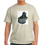 English Trumpeter Blue Check Light T-Shirt