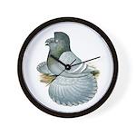 English Trumpeter Opal Wall Clock