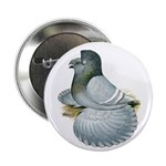 """English Trumpeter Opal 2.25"""" Button"""