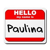 Hello my name is Paulina Mousepad