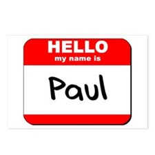 Hello my name is Paul Postcards (Package of 8)