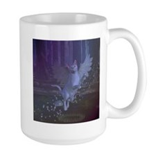 Winged Fantasy Cat Mug