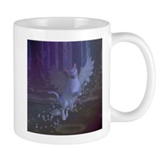 Winged Fantasy Cat Mug
