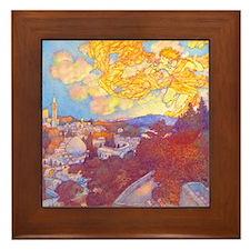 Sunrise Framed Tile