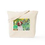 Irises/Brittany Tote Bag