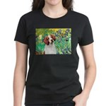 Irises/Brittany Women's Dark T-Shirt