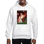 Angel/Brittany Spaniel Hooded Sweatshirt