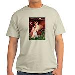 Angel/Brittany Spaniel Light T-Shirt