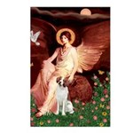 Angel/Brittany Spaniel Postcards (Package of 8)