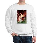Angel/Brittany Spaniel Sweatshirt