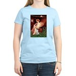 Angel/Brittany Spaniel Women's Light T-Shirt
