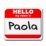 Hello my name is Paola Mousepad