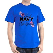 Proud Navy Girlfriend T-Shirt