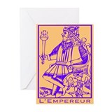 L'Empereur, Tarot Greeting Cards (Pk of 10)