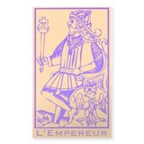 L'Empereur, Tarot Rectangle Decal