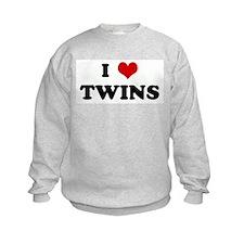 I Love TWINS Sweatshirt