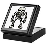 Halloween Skeleton Keepsake Box