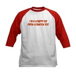 Scrappy Kid From Scranton Kids Baseball Jersey