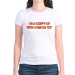 Scrappy Kid From Scranton Jr. Ringer T-Shirt