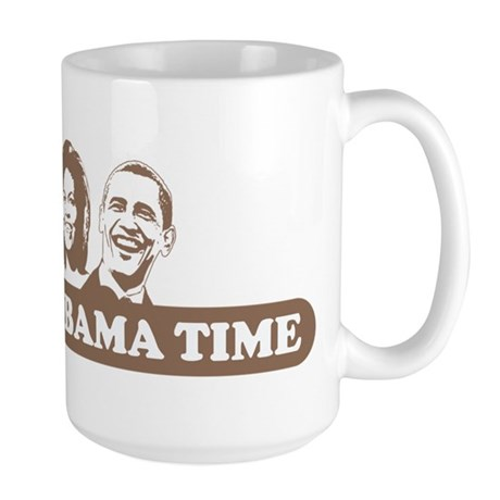 It's Obama Time Large Mug