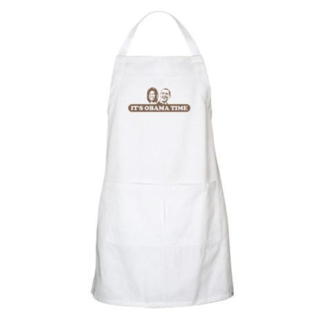 It's Obama Time BBQ Apron
