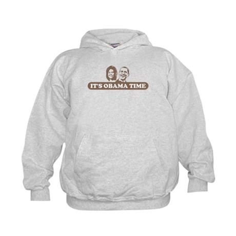 It's Obama Time Kids Hoodie