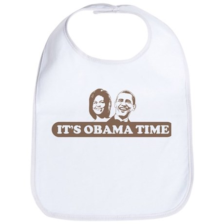 It's Obama Time Bib
