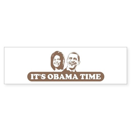 It's Obama Time Bumper Sticker