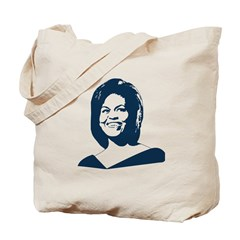 Michelle Obama (face) Tote Bag