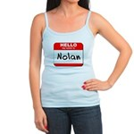 Hello my name is Nolan Jr. Spaghetti Tank