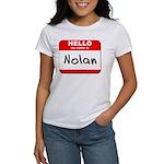 Hello my name is Nolan Women's T-Shirt