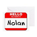 Hello my name is Nolan Greeting Cards (Pk of 20)