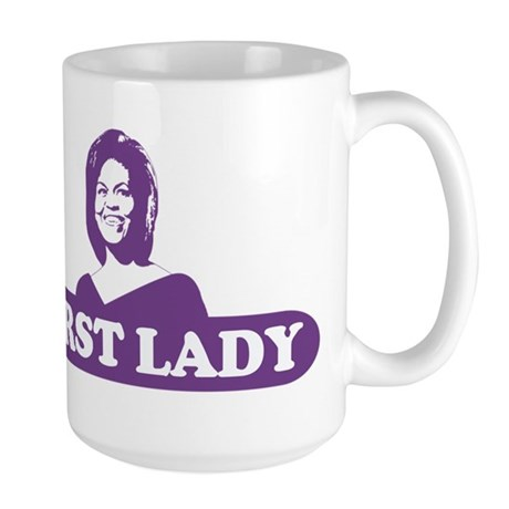First Lady - Michelle Obama Large Mug