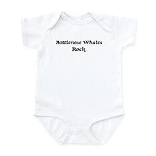 Bottlenose Whaless rock Infant Bodysuit